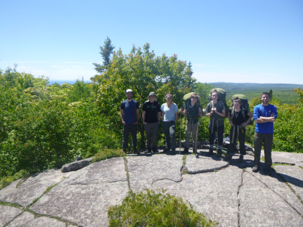 Backpacking na Superior Hiking Trail, foto: Voyageur Outward Bound School.